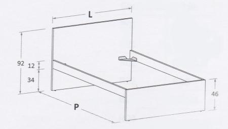 Nuk R01 (pour matelas 120 x 200cm)
