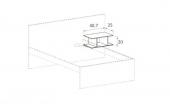Bedside table  (B)